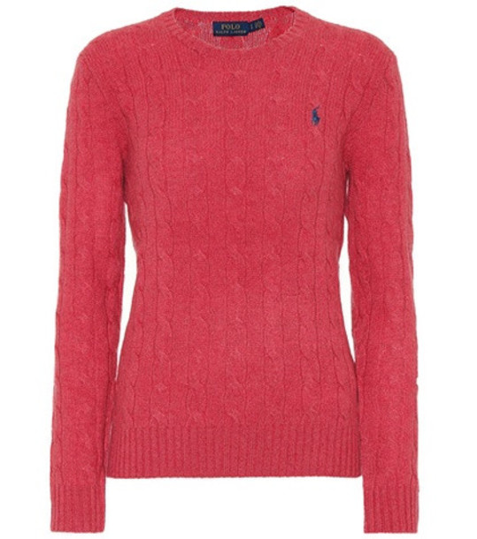 Polo Ralph Lauren Wool and cashmere sweater in red