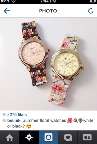 jewels summer floral watches