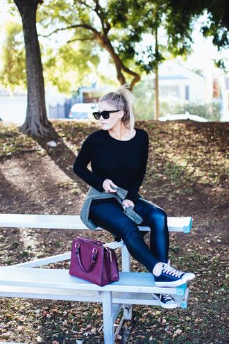 devon rachel blogger tights top pants jacket shoes bag scarf sunglasses sweater skirt dress coat