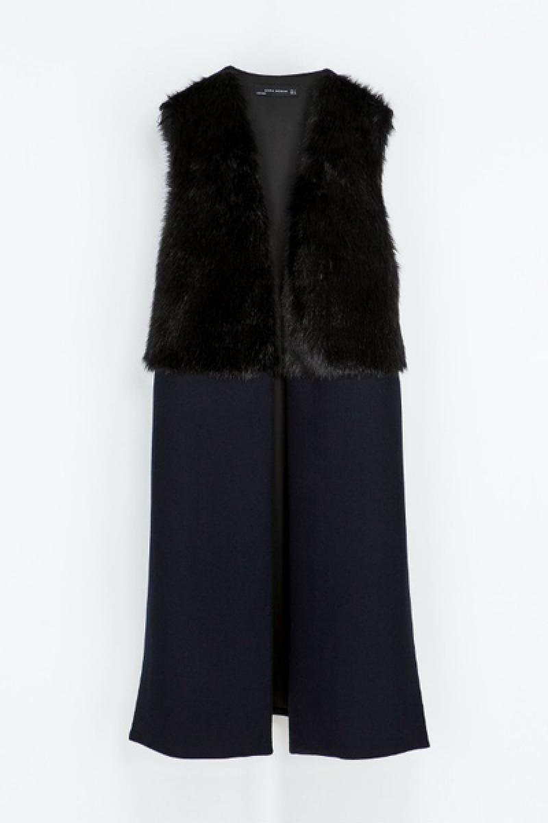 New Euroamerican Sleeveless Splicing Woolen Vest ,Cheap in Wendybox.com