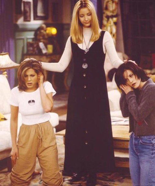 shirt monica geller friends TV show friends tv show 90s style white white t-shirt crop tops black