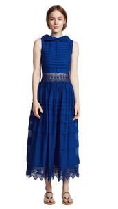 dress,blue,cobalt blue