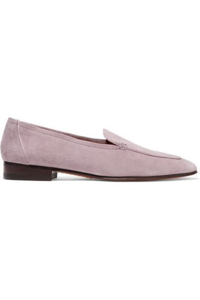 The Row - Adam Suede Loafers - Lavender
