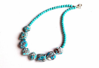 jewels jewelry turquoise gemstone women christmas gift ideas etsy sale etsy necklace