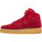 Nike air force 1 07 high lv8 men's - gym red/gum light brown