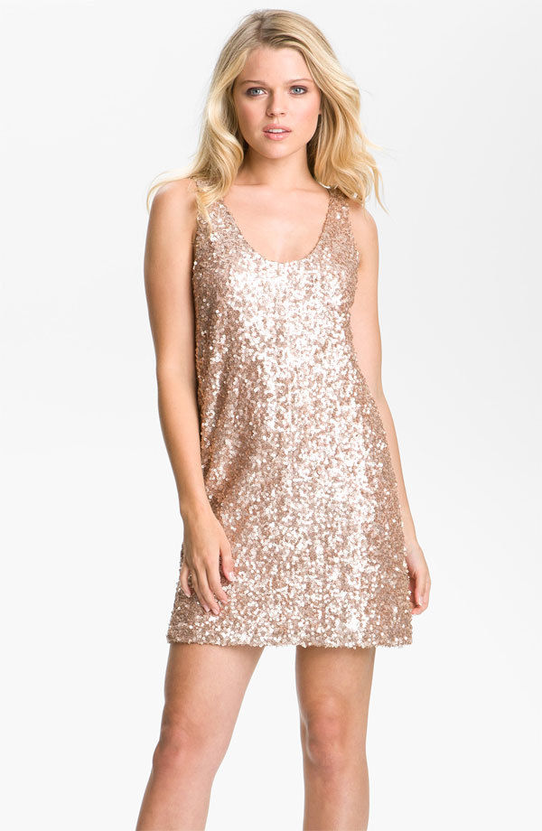 French Connection Fast Ice Cream Sequins Dress M 8 $268 | eBay