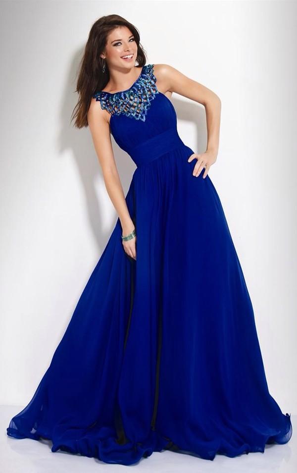 dress long prom dress blue dress ukonly detail small prom dress royal blue dress royal blue prom wedding bridesmaid