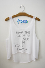 May the odds crop top