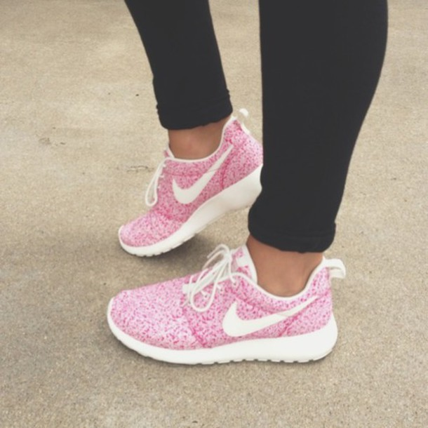 on sale eace3 73501 shoes white nike roshe runs roshes nike roshe run nike running shoes nike  air pink trainers
