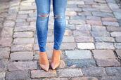 shoes,high heels,beige shoes,jeans,d'orsay pumps,ballet shoes,flat