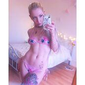 swimwear,pink,phone cover,tattoo,sexy,bikini,instagram,kawaii,cut off shorts,cute,hipster