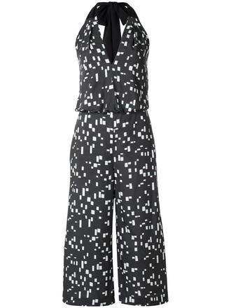 jumpsuit women black