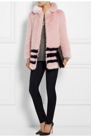 Dulcie faux fur coat