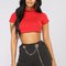 All kinds of reckless top - red