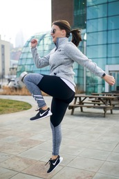 covering bases,curvy,blogger,sweater,top,leggings,shoes,plus size activewear,plus size