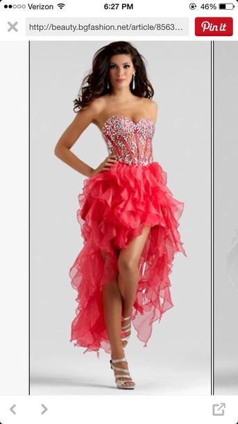 dress prom dress high to low prom dress