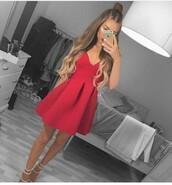 dress,summer dress,red dress,cute dress,short dress,party dress,outfit,outfit idea,summer outfits,cute outfits,spring outfits,date outfit,party outfits,club dress,clubwear,fashion,style,stylish,trendy,heels,high heels,strappy heels,cute high heels,shoes,party shoes,short party dresses,cute shoes,summer shoes