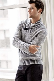 sweater,cardigan,knit,mens