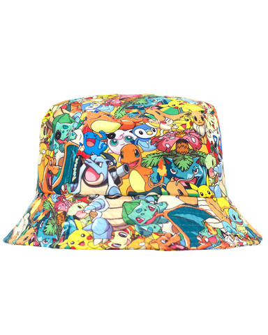 Pokemon sublimated bucket at shop jeen