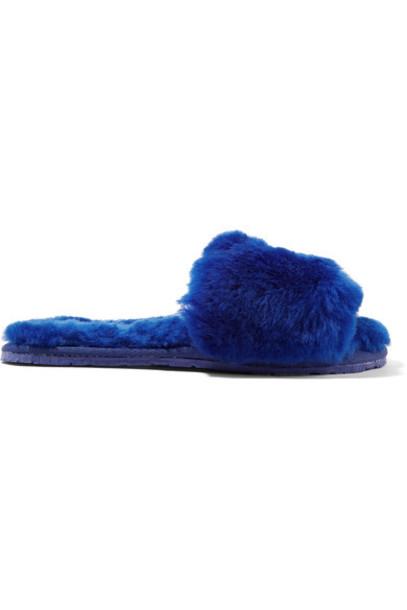 Double Rainbouu blue royal blue shoes