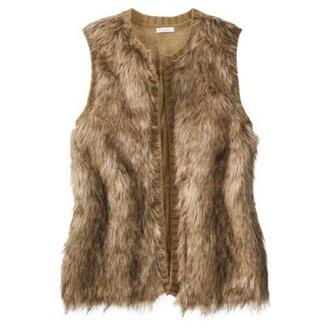 coat faux fur vest faux fur coat brown fur vest