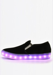 shoes,glow in the dark,black,party,sneakers,grunge,hip