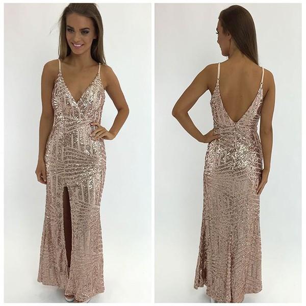 Glitter Formal Dress