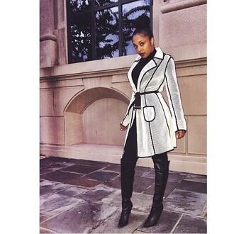 jacket trench coat white trendy fashion