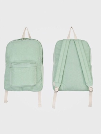 bag tumblr tumblr outfit tumblr girl turquoise tumblr fashion grunge grunge wishlist alternative american apparel green pastel backpack back to school