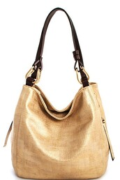 bag,gold,pu textured,shoulder bag,zip