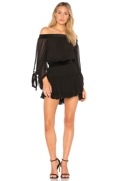 Misa Los Angeles dress black