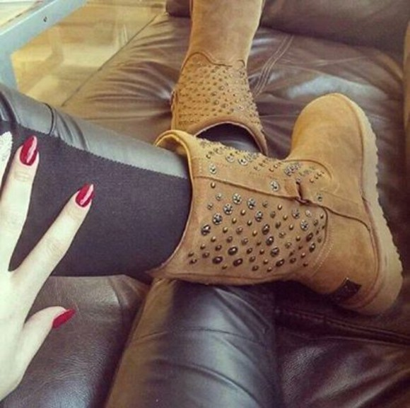 shoes studs begei ugg boots australia pants