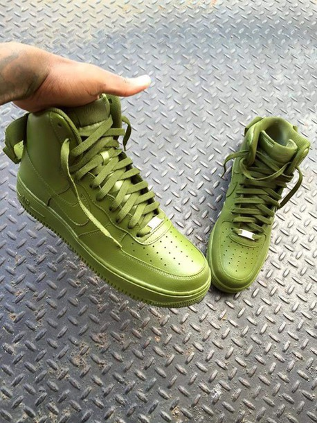hot sale online 51fea 14fbf shoes green olive green nike shoes nike sneakers