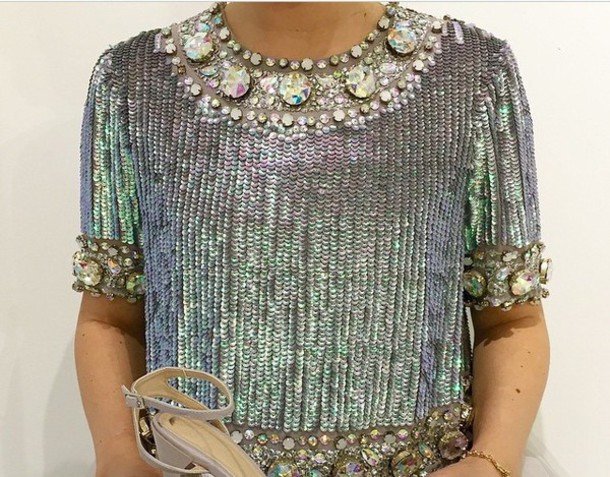 top blouse tank top shirt shine sky