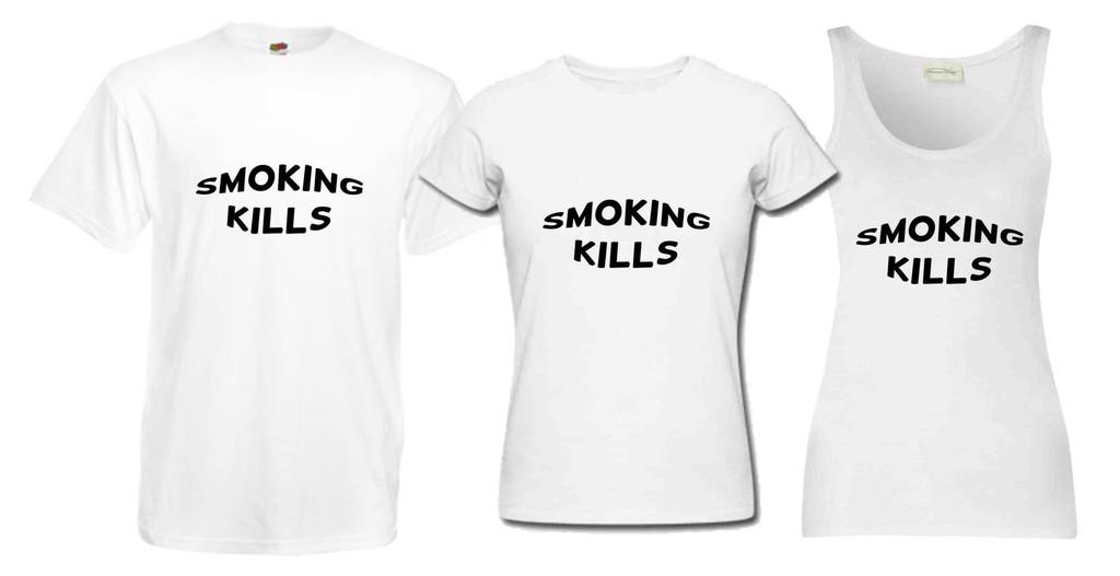 Smoking Kills T Shirt