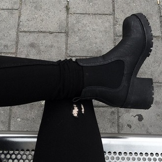 shoes boots soles black booties black boots ankle boots