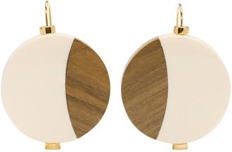 wood earrings jewels