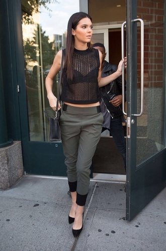 kendall jenner fashion cute hot pants clothes top jumpsuit shirt and pants