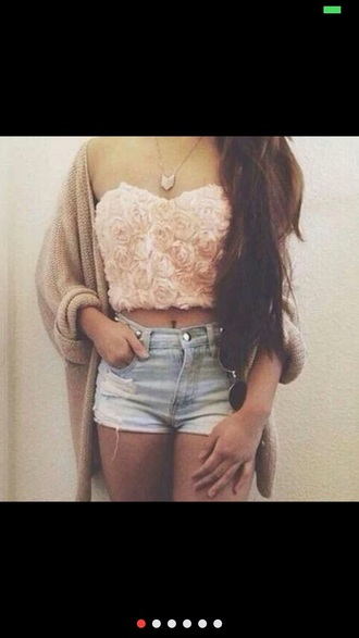shirt pink purple 3d rose crop tops 3d roses 3d print 3d flower roses shorts