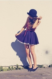 dress,navy,petticoat,lace