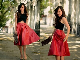 blouse crop tops two-piece forever 21 zara midi skirt classy