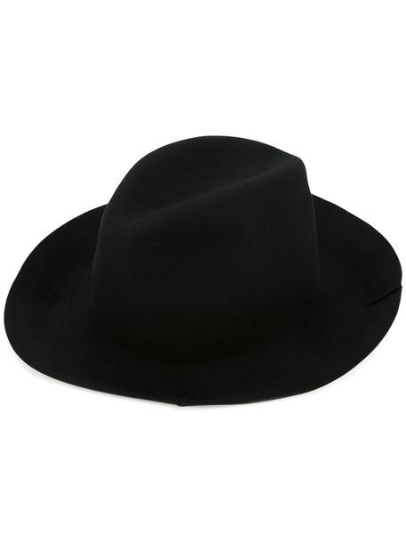 hat fedora black
