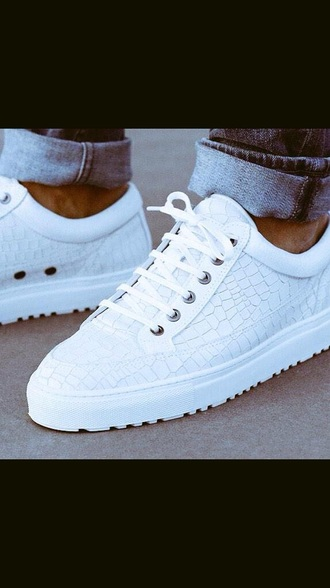 shoes fresh trainers trainers sneakers white sneakers snake print creps style