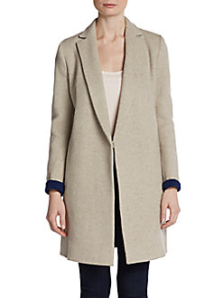 Julia Boyfriend Coat - SaksOff5th
