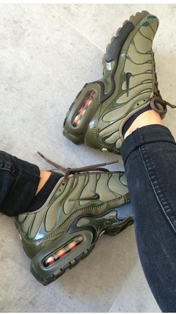 reputable site 604af 44059 aliexpress olive green nike air max plus tn 9bd35 4ffbe