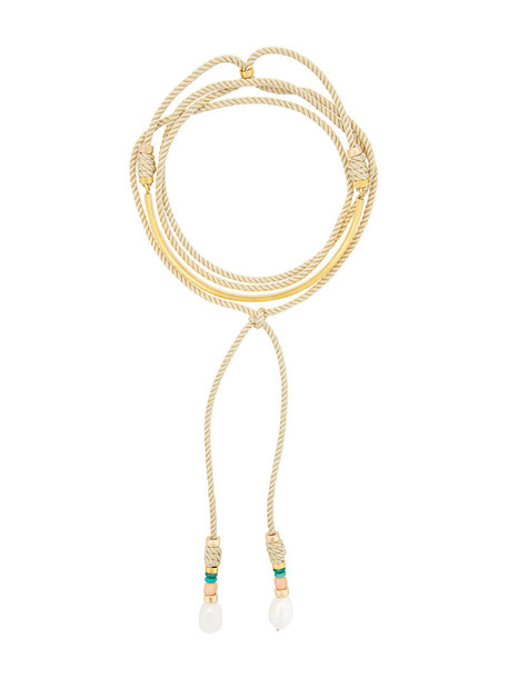 LIZZIE FORTUNATO JEWELS women pearl gold nude coral turquoise jewels