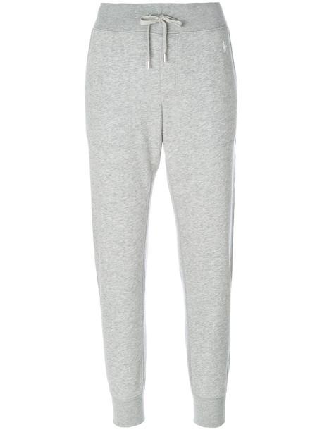 Polo Ralph Lauren women classic cotton grey pants