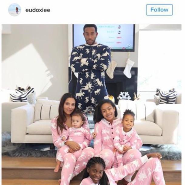afd1801970f5 pajamas cute family matching set funny ludacris pink blue onesie matching  set pjamas cute pj rapper