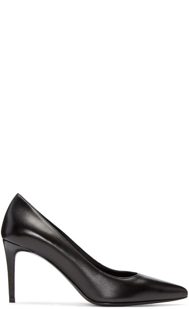 Saint Laurent paris heels black shoes