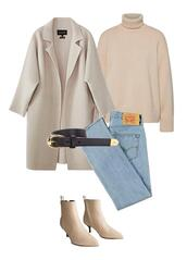 jestem kasia,blogger,coat,sweater,jeans,shoes,belt